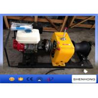 Wholesale Honda Gasoline Powered Winch 5T , Tower Erection Cable Pulling Winch from china suppliers