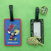 Wholesale lovely PVC bag tag for promotion your business from china suppliers