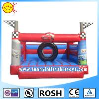 Wholesale Small Cars Printing Commercial Inflatable Bouncers Water And Fire Proof from china suppliers