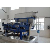 Quality Industrial Textile wastewater sludge removal equipment Belt filter press Economical and reliable for sale
