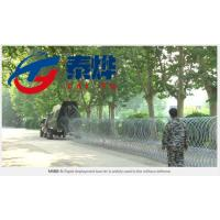 China Stainless Steel Razor Wire Mobile Security Barrier Solve Emergency Problems on sale