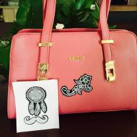 Wholesale Different Patterns Leather Bag Stickers Removable Semi Permanent Ce Certificated from china suppliers