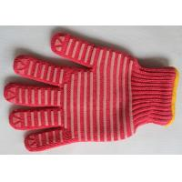 Wholesale Household Red Silicone Barbecue Gloves Heat Resistant Kitchen Gloves from china suppliers