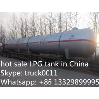 Wholesale hot sale 20ton bulk LPG gas storage tank, factory price LPG for sale, cheapest price and high quality LPG tank from china suppliers