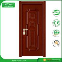 Wholesale House Main Gate Designs Exterior Steel Door Security Front Door with Mul-T-Lock from china suppliers