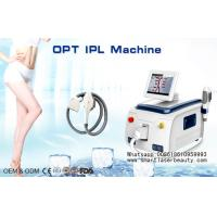 Wholesale Portable Elight IPL Hair Removal Machine For Spider Veins Removal , SHR IPL Hair Removal from china suppliers