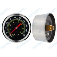 Wholesale 0 15 psi / 0 30 psi Air pump pressure gauge , 2.5 inch back pressure gauge from china suppliers