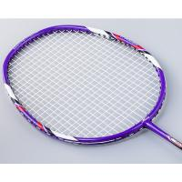 Wholesale Full carbon fiber badminton racket, 675mm, G5, with square head, suitable for offensive player from china suppliers