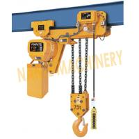 Wholesale 7.2 m / Min Max Lifting Speed 10 Ton Electric Chain Hoist For Single / Double Speed from china suppliers