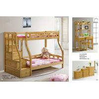Wholesale Modern beech Wooden Bunk bed,double bunk bed,double decker bed home furniture from china suppliers