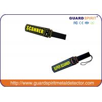 Wholesale high sensitivity hand-held metal detector , portable body scanner for security inspection from china suppliers