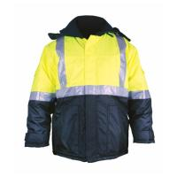 Wholesale OEM/ODM/Private Label Hi-Vis Cotton Drill Reflective Jacket from china suppliers