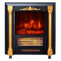 Wholesale Movable Fireplace SF-1424 real log burning flame room heater infrared Quartz tube from china suppliers