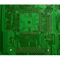 Wholesale Lead free HASL green solder mask single side pcb board HTG 150 - 180 V-cut 45°, 60° from china suppliers