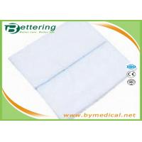 Wholesale Medical Non woven Swabs Absorbent sterile non woven sponge pads Safe Medical Wound Dressing pads with X ray line from china suppliers