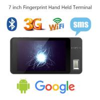 Quality FP07 Android Portable Biometrics Fingerprint Scanner/barcode scanner for sale