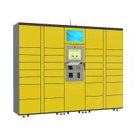 Wholesale 15 inch Touch Screen Parcel Delivery Lockers , Computer System Parcel Locker Service from china suppliers