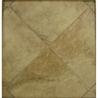 Wholesale wholesale thickness 10mm  Glazed porcelain floor bullnose tile types 600x600mm stone look from china suppliers