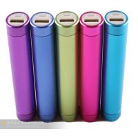Quality AiL hotsale promotional gift-metal round mobile power,power battery,LED power bank for sale