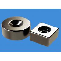 Buy cheap RoHS Countersunk Hole NdFeB Ring Magnets Block Magnets Custom Made from wholesalers