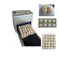 Wholesale Six Nozzles At The Same Time Printing High Efficiency Eggs Ink-Jet Printing Machine from china suppliers