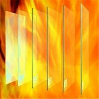 Wholesale 8mm Sigle Fire proof glass for commercial office building door and windows from china suppliers