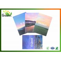 Buy cheap Custom A5 Size Exercise Notebooks with Colorful Cover or Personalized LOGO from wholesalers
