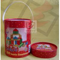 Wholesale Handle Paper Cans Packaging Offest / CMKY / PMS Print Recoverable from china suppliers