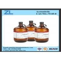 Wholesale Synthesis Of Organic Compounds HPLC Grade Acetonitrile Colorless Liquid from china suppliers