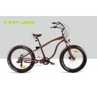 "Wholesale 48V 500W Powerful Electric Beach Bike Cruiser Bicycle 26""X 4.0 Fat Tire from china suppliers"
