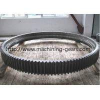 Quality Blackened External Large Diameter Gears Ring Gear For Vehicle Accessories for sale