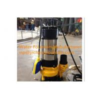 Wholesale Single Phase Sewage Submersible Pond Pump With Floating Ball 0.18 - 1.1KW from china suppliers