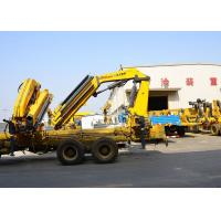Buy cheap 14 Ton Lifting Mobile Knuckle Boom Truck Crane SQZ420A Advanced development from wholesalers