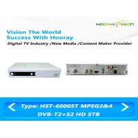 Wholesale Combo DVB S2 Mpeg4 Satellite Receiver , Digital Terrestrial TV Receiver from china suppliers