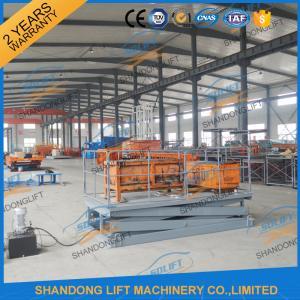 Quality CE TUV1.5T 3.5M Warehouse Hydraulic Scissor Lift Scissor Lift Platform for Cargo for sale