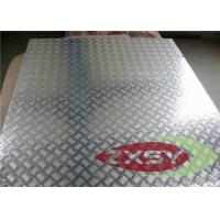 Wholesale Silver 5052 Treadplate Embossed Aluminium Sheet Bright Finished , Aluminium Plate from china suppliers