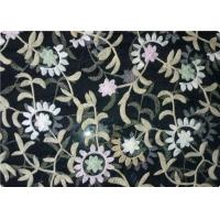 Wholesale 100% Polyester Embroidered Fabrics Contemporary Upholstery Fabric from china suppliers