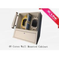 Wholesale Low Loss 48 Cores Wall Mount Fiber Distribution Cabinet Adaptation Many Applications from china suppliers