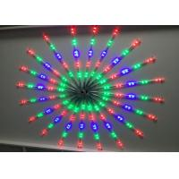 Wholesale Synchronized LED Meteor Shower Rain Tube Lights Outdoor Tree Decoration RGB / Blue from china suppliers