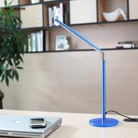 Wholesale Led reading eye protection desk lamp with Clip two level brightness switch dimmer table lamp from china suppliers