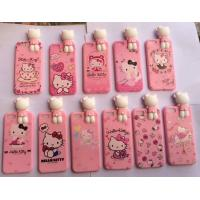 Wholesale Silicone Cell Phone Accessories Cartoon Phone Cover Polka Dot Hello Kitty Case from china suppliers