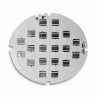Wholesale LED Illumination MCPCB, Shiny Surface with White Oil, Aluminum Base Substrate from china suppliers