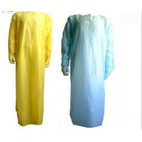 Wholesale Embossed Impervious CPE Disposable Isolation Gowns With Thumb Loop For Hospital from china suppliers