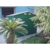 Wholesale Waterproof Medium Apex Yard Storage Sheds For Tools Storage , Powder Coated Frame from china suppliers