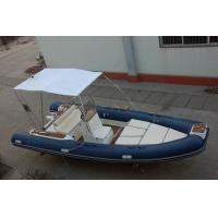Wholesale 6m Luxury Inflatable Rib Boat 1587 KGS Light Boat With Fiberglass Step from china suppliers