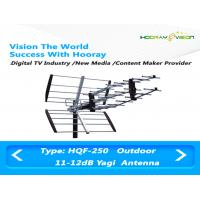 Wholesale Directional Outdoor Digital TV Antenna UHF 50W 11dBi With F Connector from china suppliers