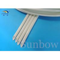 Wholesale Braided silicone rubber coated fiberglass sleeving heat resistant from china suppliers