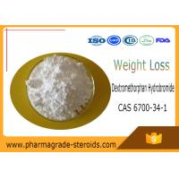 Wholesale CAS 6700-34-1 Pharmaceutical Raw Materials Dextromethorphan Hydrobromide from china suppliers