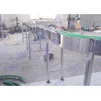 Wholesale Modular Stainless Steel Bottle Conveyor System For Bottled Beverage Transportation from china suppliers