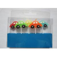 Wholesale Stylish Race Car Shaped Birthday Candles Paraffin Art Candles Decorative For Boys from china suppliers
